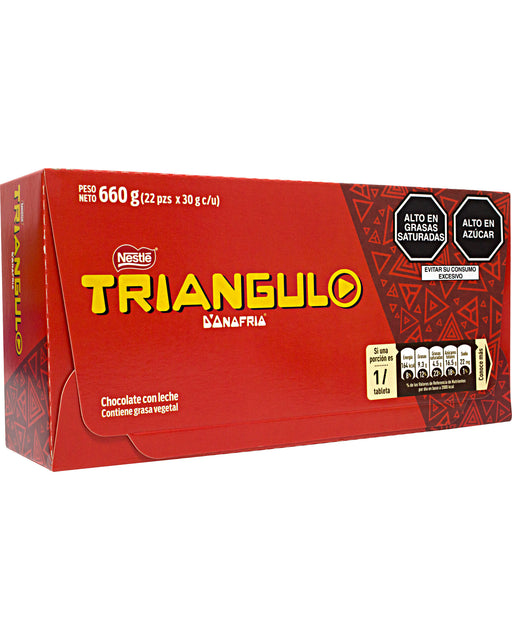 D'Onofrio Triangulo Chocolate Bar