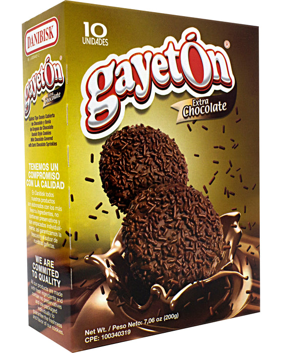 Danibisk Gayeton Extra Chocolate (Chocolate-Covered Cookies)