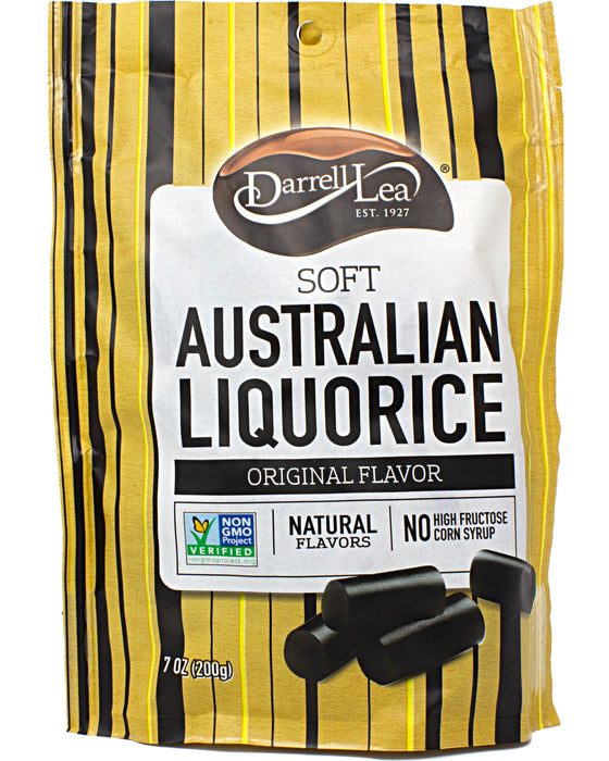 Darrell Lea Soft Australian Licorice Original