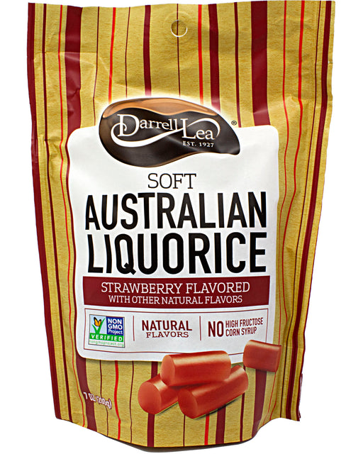 Darrell Lea Soft Australian Licorice Strawberry