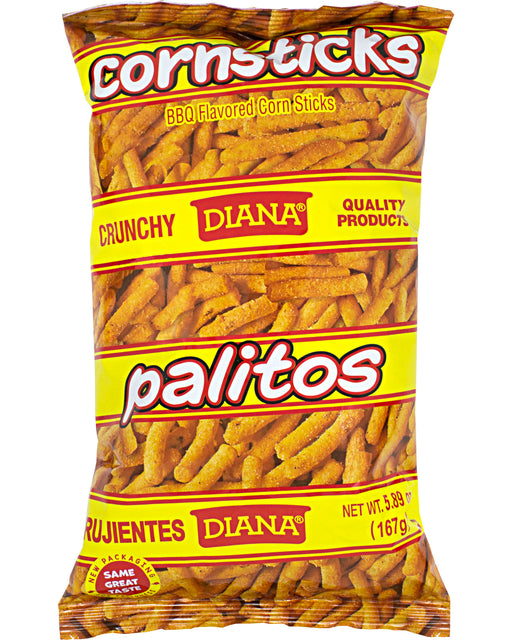 Diana Palitos BBQ-Flavored Corn Sticks