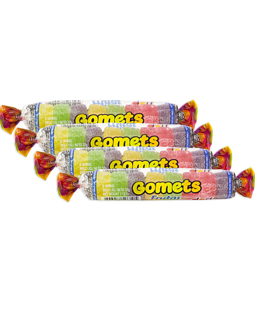 Dori Gomets (Fruit-Flavored Jelly Candies) 4 Pack