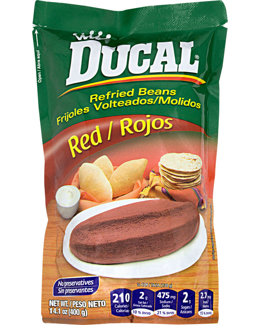 Ducal Frijoles Volteados (Refried Red Beans)