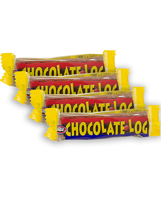 Elite Mekupelet (Israeli Chocolate Log Bar) Pack of 4