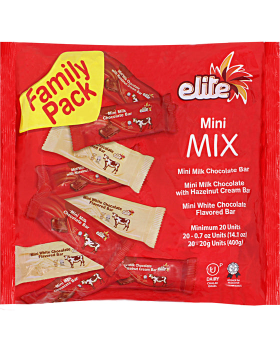 Elite Mini Mix Israeli Chocolate Variety Pack