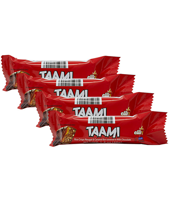 Elite Taami Crunchy Chocolate with Puffed Rice 4 Pack