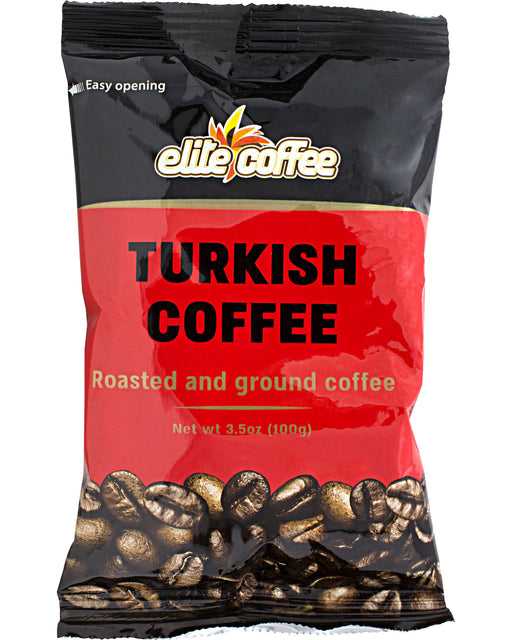 Elite Turkish Coffee (Roasted and Ground Coffee)