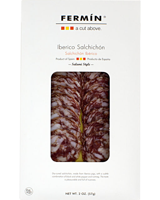 Fermin Salchichon Iberico (Sliced Pork Dry-Cured Sausage)