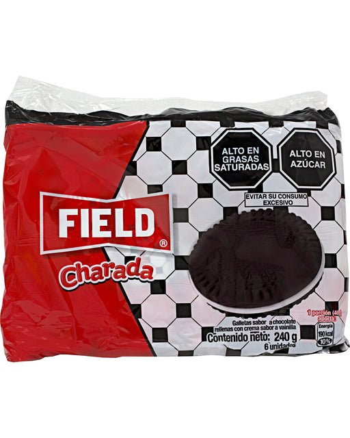 Field Charada Galletas (Chocolate Sandwich Cookies)
