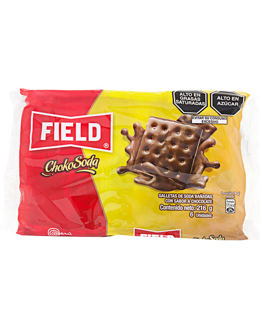 Field ChokoSoda Chocolate-coated Soda Crackers