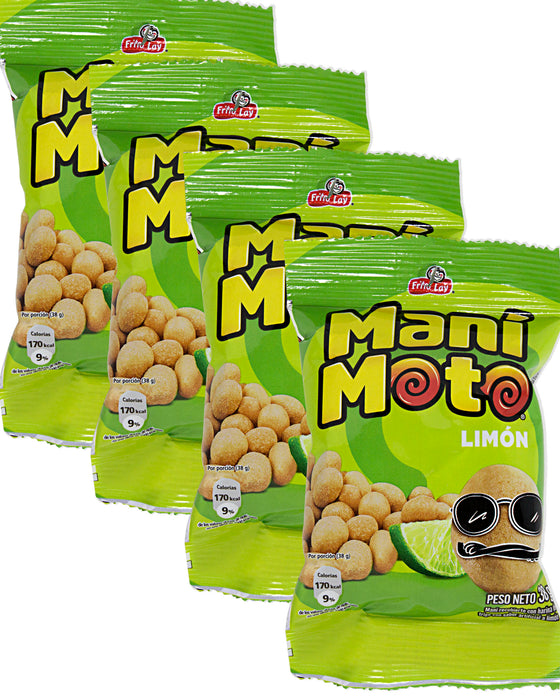 Frito Lay Manimoto Limon (Japanese-style Peanuts) (Pack of 4)