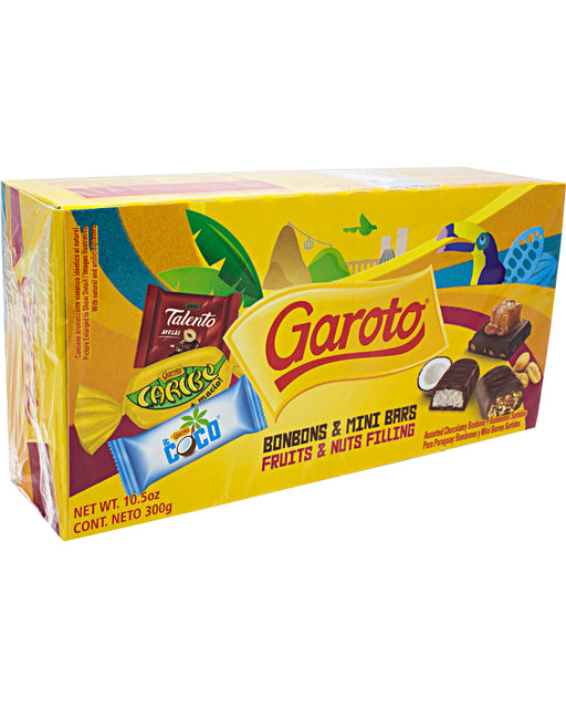Garoto Bonbons & Mini Bars (Assorted Chocolate Candy)