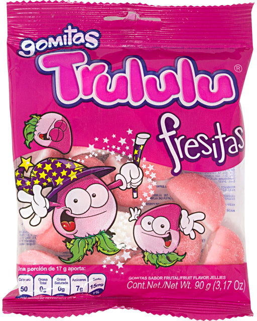 Trululu Fresitas (Strawberry-Flavored Gummies)