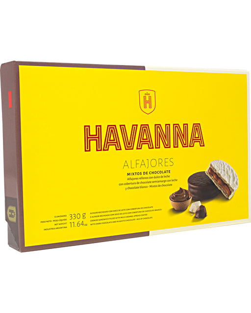 Havanna Alfajor (Milk Caramel Filling with Mixed Chocolate Coating)
