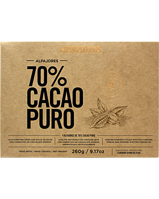 Havanna Alfajores 70% Cocoa Coating (Box of 9)