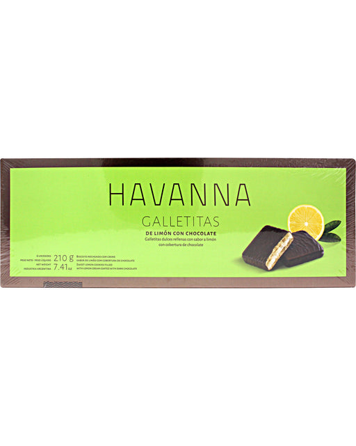 Havanna Chocolate-coated Lemon Cookies
