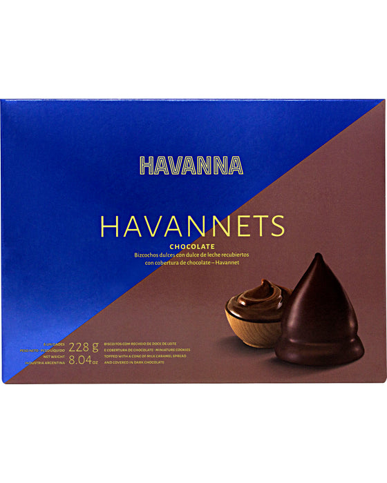 Havanna Havannets Chocolate Cones filled with Milk Caramel