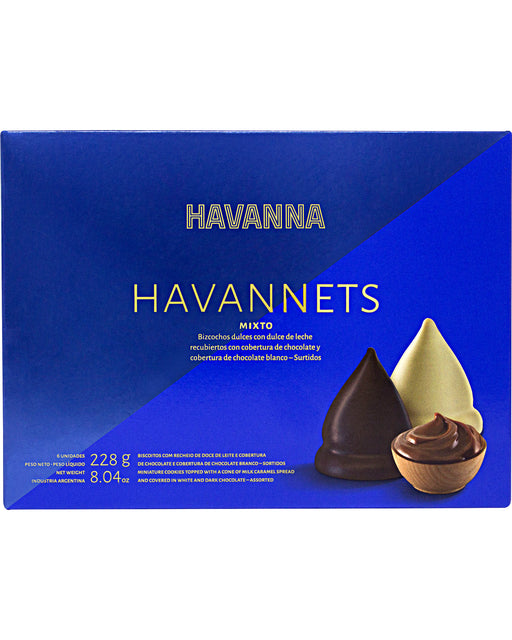 Havanna Havannets Mixed Chocolate Cones filled with Milk Caramel