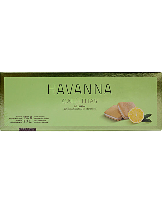 Havanna Lemon Cookies