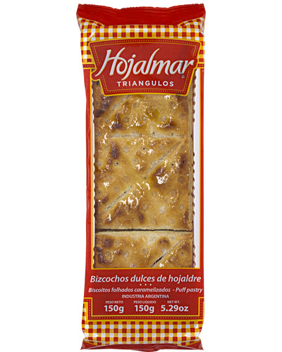 Hojalmar Triangulos (Sweet Puff Pastries) - 5.2 oz / 150 g
