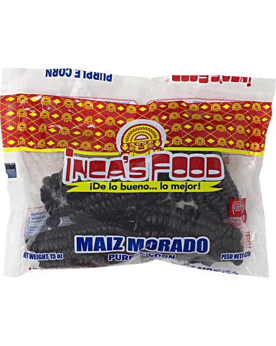Inca's Food Maiz Morado (Dried Purple Corn)