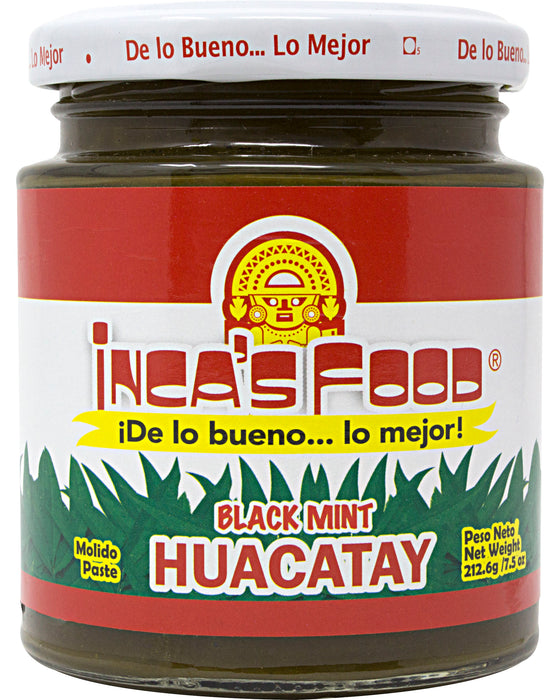 Inca's Food Huacatay Paste (Black Mint)
