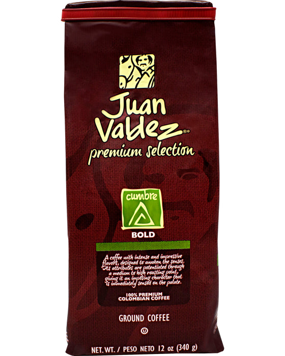 Juan Valdez Premium Selection Cumbre (Ground Coffee) - Front