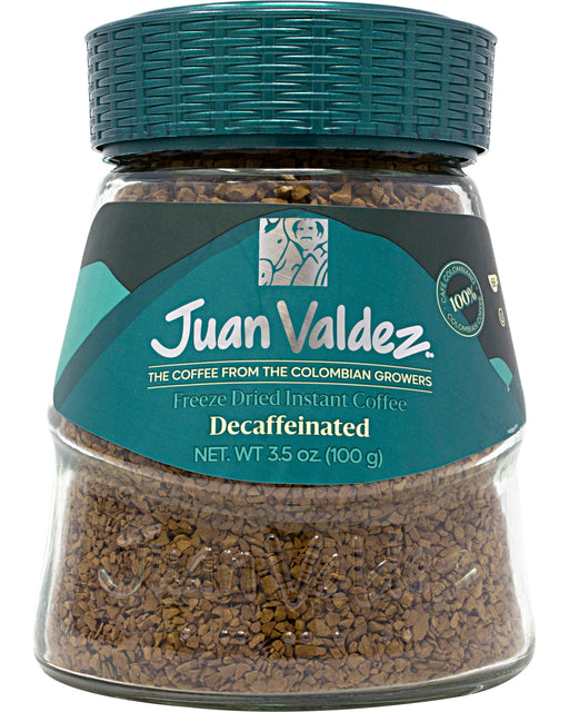 Juan Valdez Instant Coffee (Decaffeinated, Freeze-Dried)