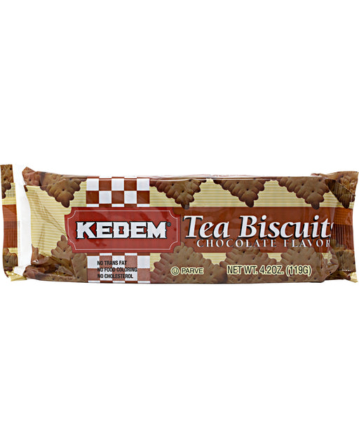 Kedem Tea Biscuits Chocolate Flavor