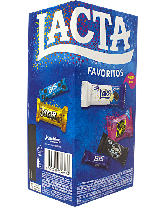 Lacta Favoritos Chocolate Candy (Assorted Box) - Vertical