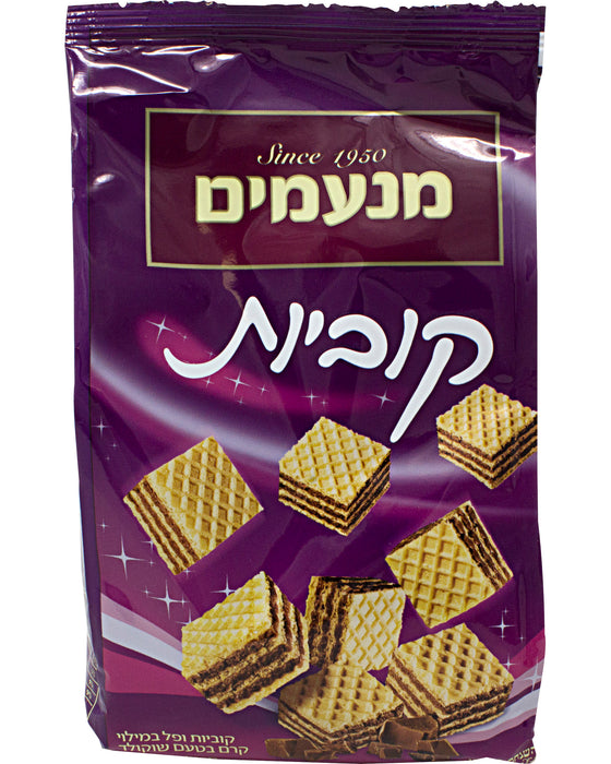 Liebers-Manamim-Chocolate-Wafer-Cubes-Hebrew