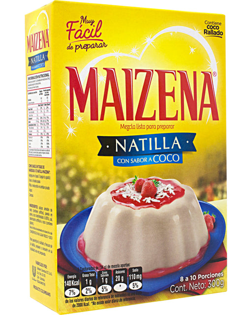 Maizena Natilla con Coco (Coconut Custard Mix)