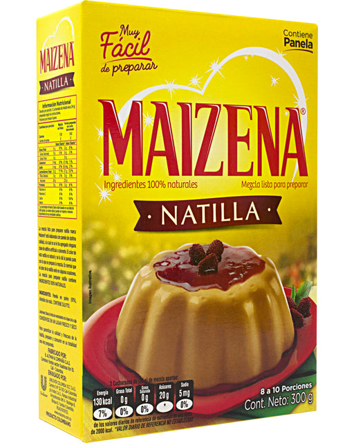 Maizena Natilla con Panela (Cornstarch Custard Mix)