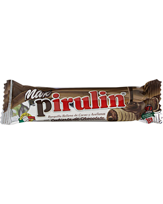 Pirulin Max (Chocolate-Coated Wafer Stick)