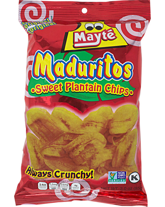 Mayte Maduritos Sweet Plantain Chips