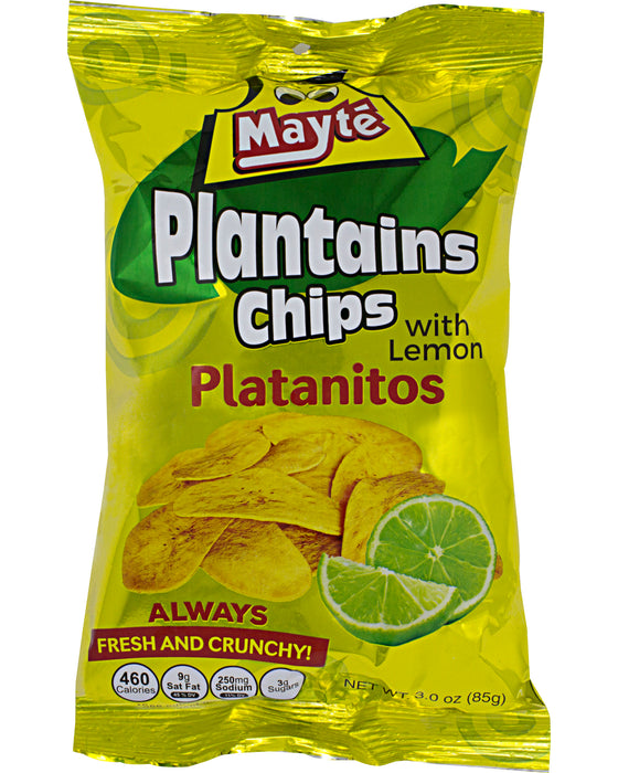 Mayte Plantain Chips with Lemon