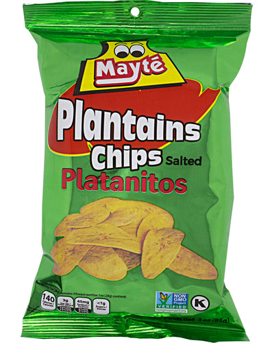 Mayte Plantain Chips (Salted) - 3 oz / 85 g