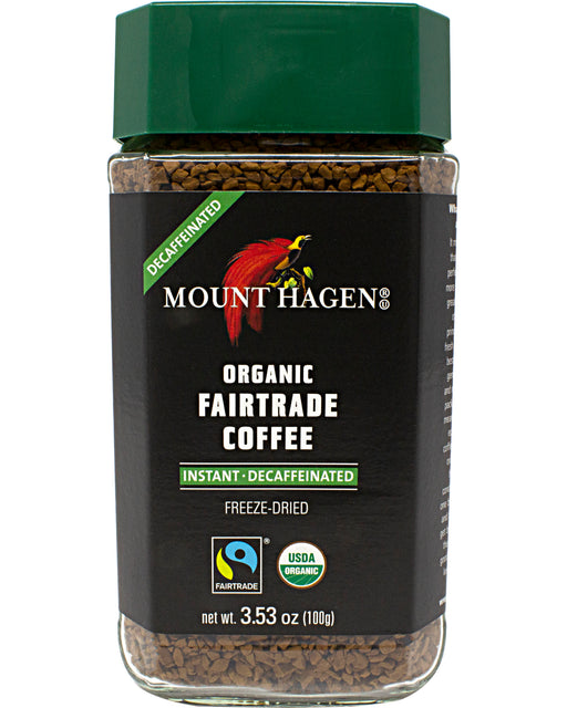 Mount Hagen Organic Decaf Instant Coffee