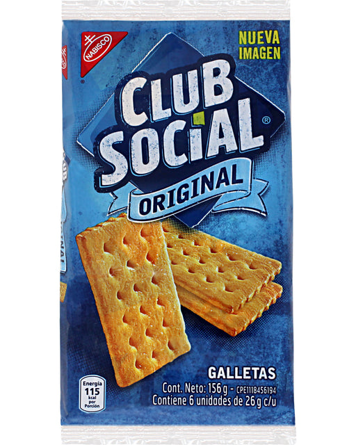 Nabisco Galleta Club Social (Venezuelan Salty Crackers)