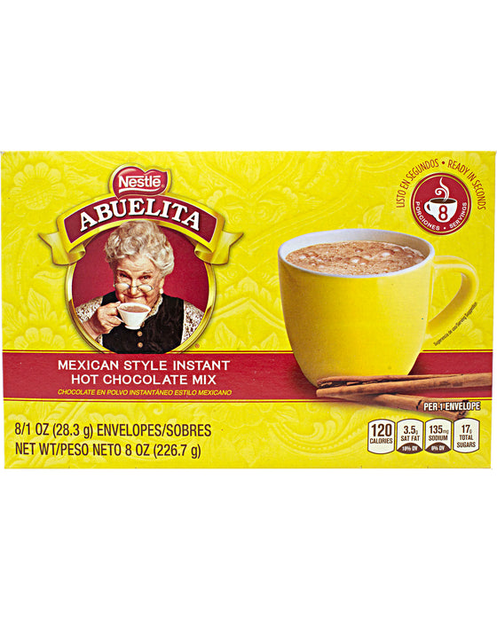 Abuelita Mexican Hot Chocolate Mix Packets