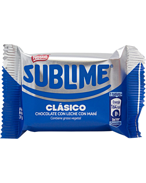 Nestle Sublime Chocolate with Peanuts (Classic) - Single