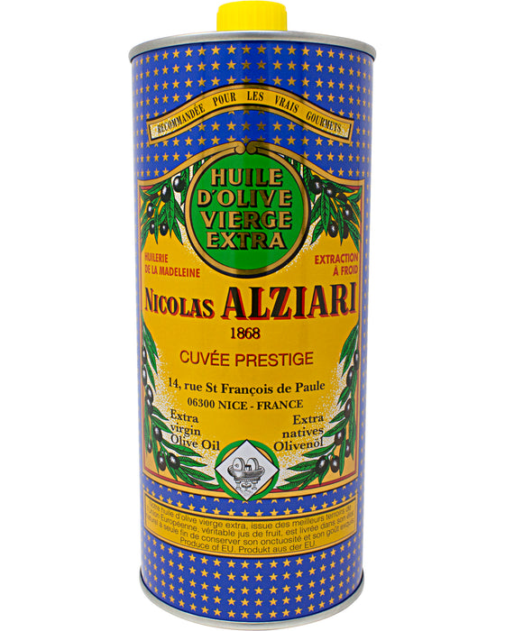 Nicolas Alziari Extra Virgin Olive Oil, Cold Pressed