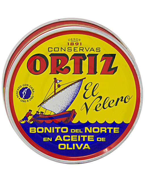 Ortiz White Tuna in Olive Oil Large Tin