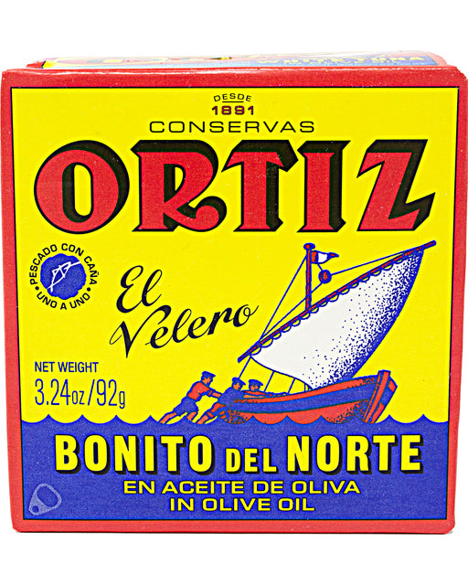 Ortiz White Tuna in Olive Oil Small Tin