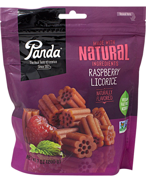 Panda All Natural Raspberry Licorice Candy