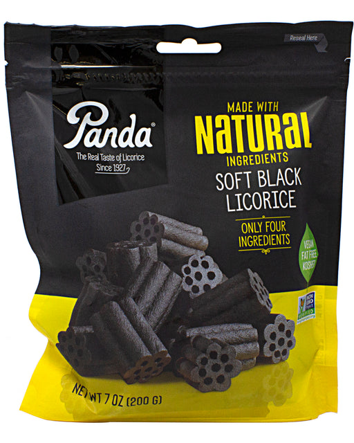 Panda All Natural Soft Black Licorice Candy