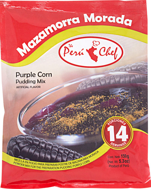 Peru Chef Mazamorra Morada (Purple Corn Pudding)