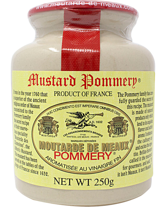 Pommery Whole Grain Mustard (Moutarde de Meaux)