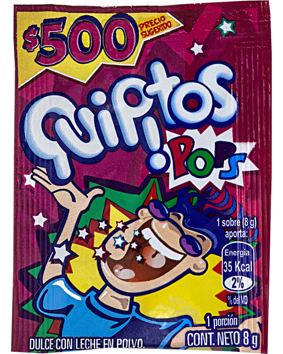 Quipitos Pops (Powdered Popping Candy)