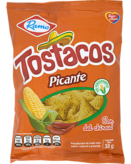 Ramo Tostacos Picantes (Spicy Corn Chips)